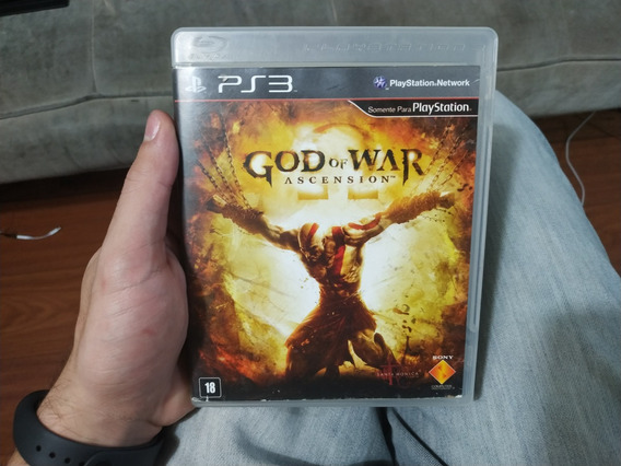 God Of War Ascension Ps3 Playstation 3 Mídia Física