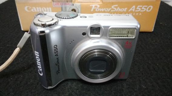 Câmera Fotográfica Digital Canon Power Shot A550