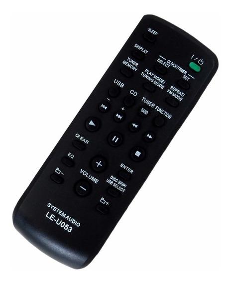 Controle Remoto Para Aparelho De Som Sony Rm-scu37b Mhc-esx6