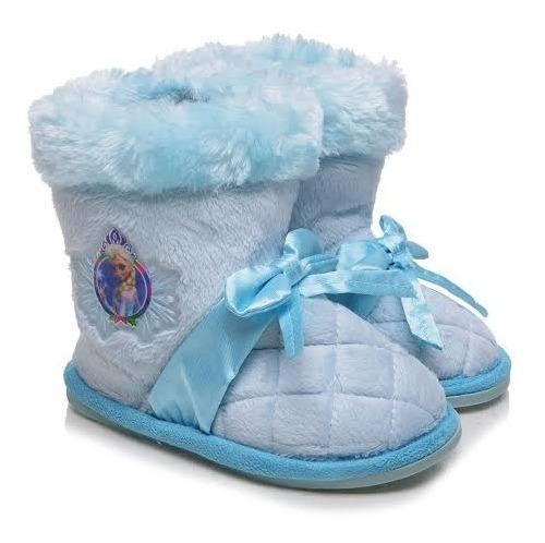 Pantufa Botinha Frozen Azul Ricsen