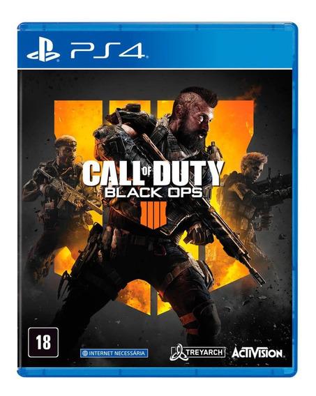 Call Of Duty: Black Ops 4 - Ps4 - Mídia Fìsica