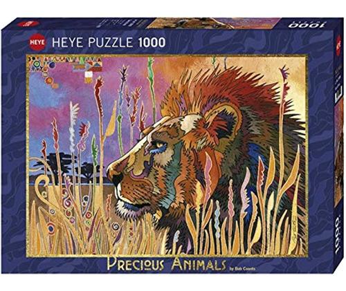 Rompecabezas Heye: Animales Majestuosos: Toma Un Descanso