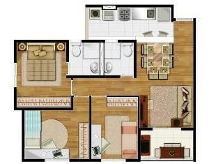 Imagem 1 de 12 de Apartamento Para Venda, 2 Dormitórios, Piqueri - São Paulo - 659