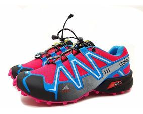 Tênis Scpeedcross 3 4 Trava Feminino Corrida Caminhada Frete