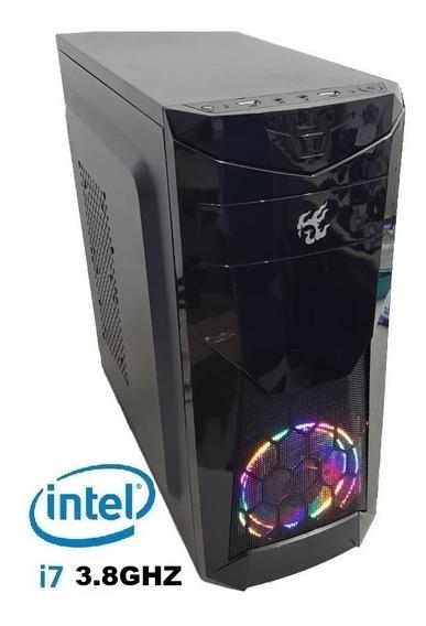 Pc Cpu Gamer Core I7 2600 3.9ghz 8gb Ssd 240g Gtx1050 Ti 4gb
