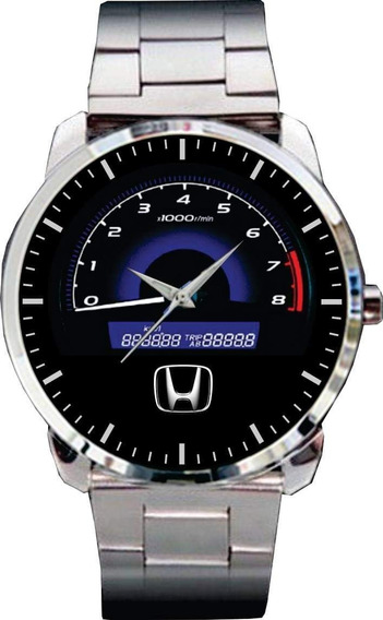 Relógio De Pulso Personalizado Painel Rpm Carro -cod.horp007