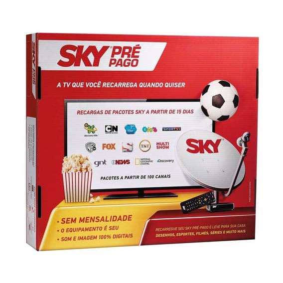 Sky Pre Pago Hd - P/ Tv Com Hdmi Menor Preço Mercado Livre