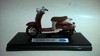 Miniatura De Moto Yamaha Vino Yj50r 1999 1/18 Welly