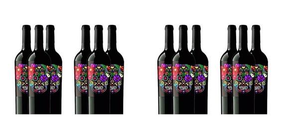 Caja De 12 Vino Tinto De Muerte Botella 0,70l Winery-on