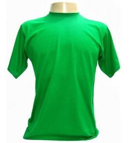 Camisa Em Malha Pv Fria Lisa Promocional Kit Com 3 Unidades