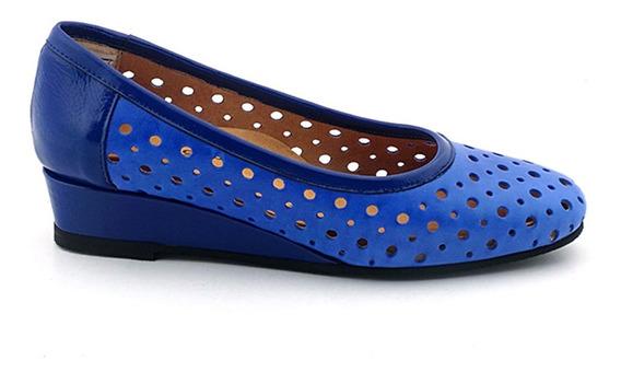 Zapato Mujer Cuero Briganti Confort Goma Vestir - Mccz03308