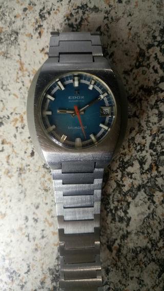 Relógio Automático Edox Bluebird Vintage