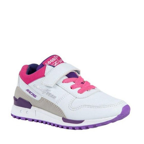 Tenis Casual Niña Goodyear Racing Blanco 162099 Isu 2-19 J