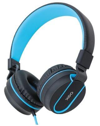 Fone De Ouvido Dobravel Headset Neon Oex Hs106 Azul