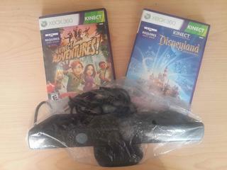 Microsoft Kinect Sensor Juegos Originales Para Xbox 360