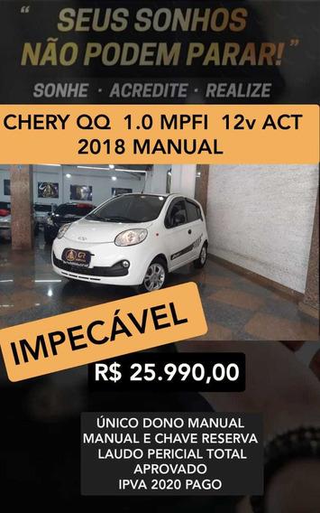 Chery Qq 1.0 Act Flex 5p - 2018 ( Unico Dono )