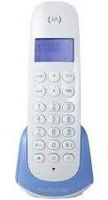 Telefone Sem Fio Digital Dect Azul Motorola Moto700-b Nfe