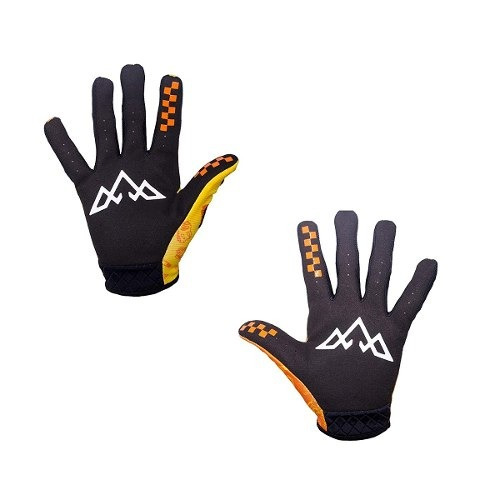 Tasco Mtb Double Digits Gloves Orange Bike Bits
