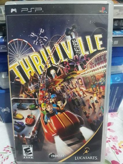 Thrillville Jogo Mídia Física Para Playstation Portátil Psp