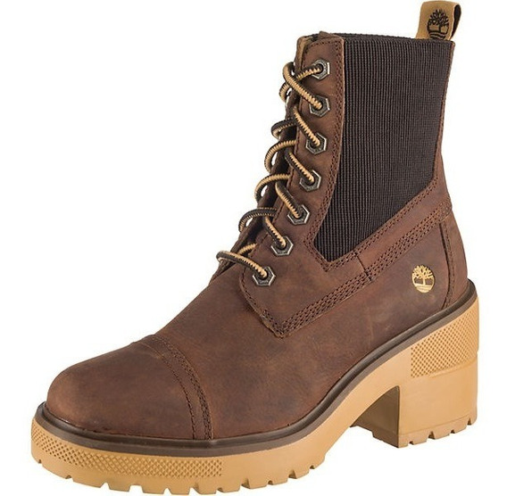 Botas Timberland Mujer Silver Blossom Cafe A21za Look Trendy