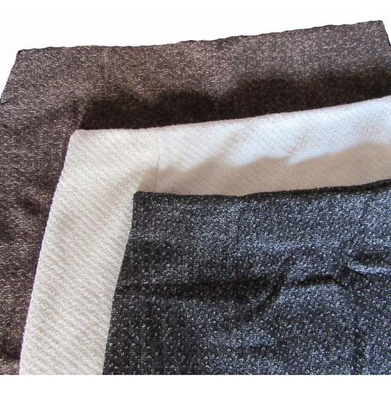 Saia Feminina Midi Outono Inverno Kit Com 3 Tweed Quentinha