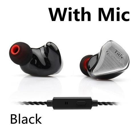 Fone In-ear Trn Im1 Dual Drive Retorno D Palco Monitor + Bag