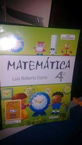Matemática 4 Ano Dante Livro Col Aprendendo Sempre