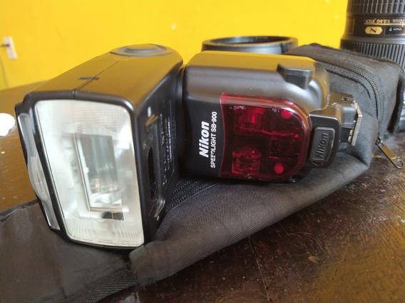 Flash Nikon Speedlight Af Sb-900