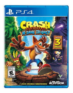 Crash Bandicoot N Sane Trilogy Ps4 Nuevo Sellado Beyond_trc