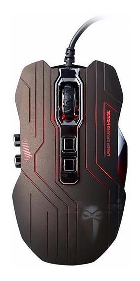 Mouse Gamer Luom 3200 Dpi Botões Ópticos 9d Marrom Escuro
