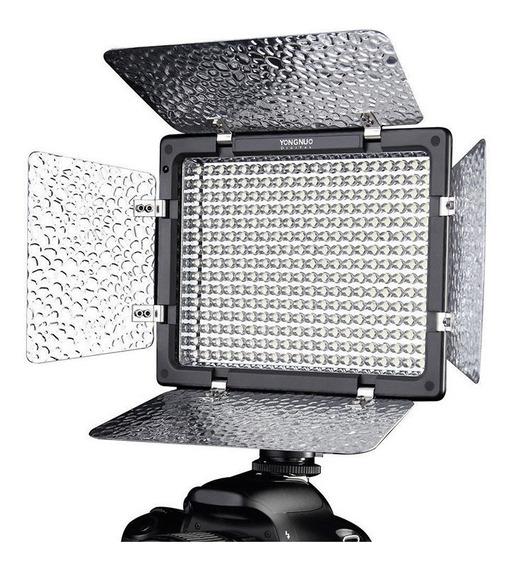 Iluminador Profissional De Led Yongnuo Yn300 Iii + Controle + Fonte + Filtros