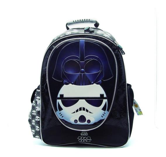 Mochila Escolar Star Wars Tsum Tsum Grande 18 Pulgadas