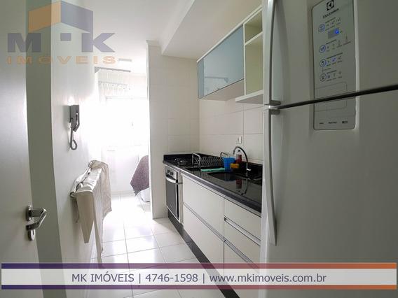 Apartamento Com 3 Dormitórios Em Poá/sp - 649