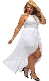Vestido Feminino Plus Size Festa Pronta Entrega Renda Roupas