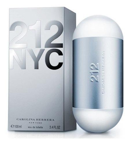 212 Nyc Mujer Edt 100ml Silk Perfumes Original Ofertas