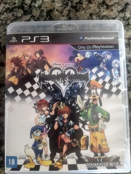 Kingdom Hearts 1.5 Hd Remix Ps3 Mídia Manual Em Português.