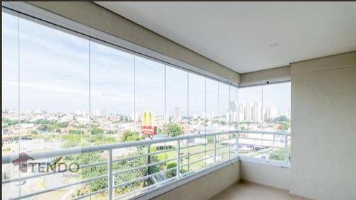 Imagem 1 de 21 de Imob01 - Apartamento 84 M² - 3 Dormitórios - 1 Suíte - Jardim Três Marias - São Bernardo Do Campo/sp - Ap1291
