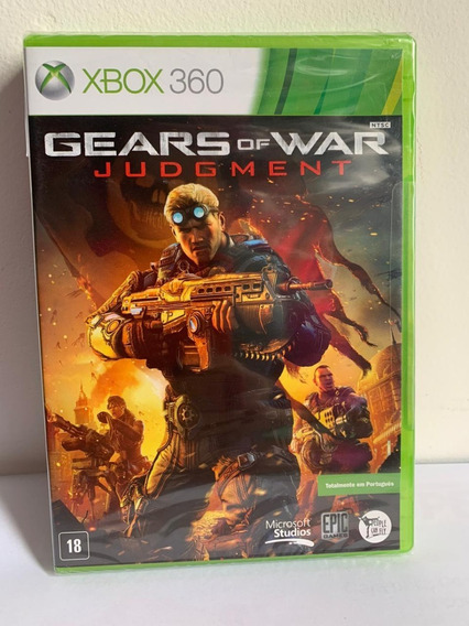 Jogo Gears Of Wars Judgement - Xbox 360-novo-lacrado