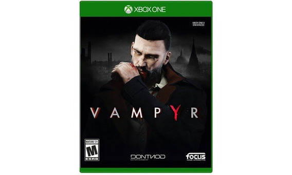 Jogo Mídia Física Vampyr Original Para Xbox One