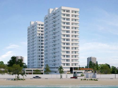 Imagem 1 de 14 de Apartamento De Frente Para A Praia Em Mongaguá