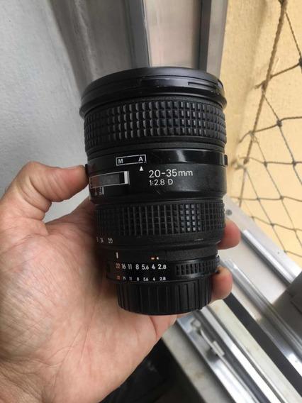 Objetiva Nikon 20-35mm F/2.8 Super Nova