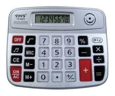 Calculadora Eletrônica 8 Dígitos E Raiz Quadrada