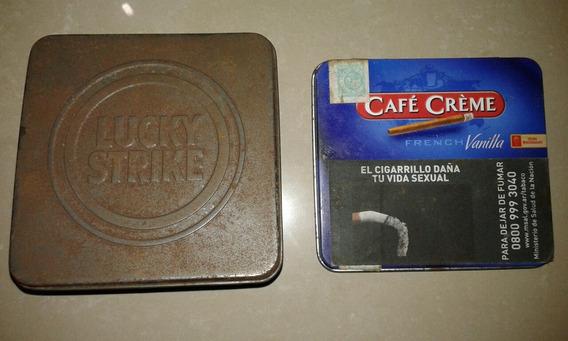 Dos Latas De Cigarrillo