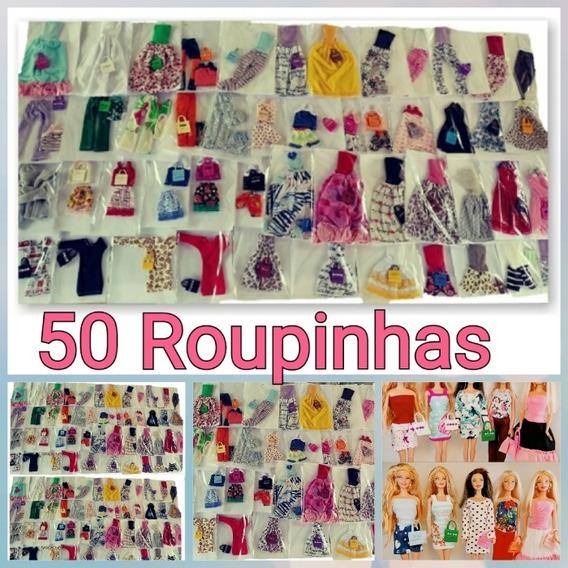 Limpa Estoque! 50 Looks ! Roupinhas De Boneca