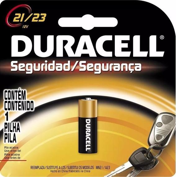 Pilha Bateria 12v Alcalina Duracell 21/23 Controle - 6 Unid