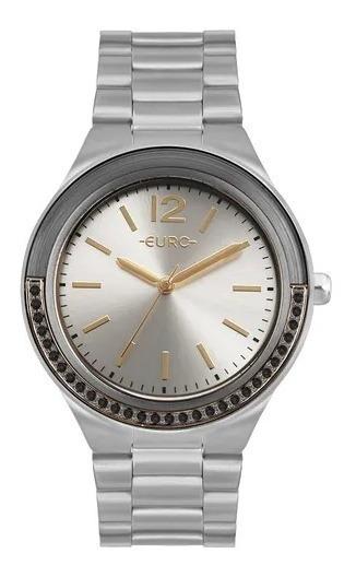 Relógio Euro Feminino Double Face Lux Prata Eu2035yor/3k
