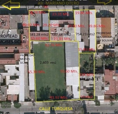 Terreno Ideal Para Edificios A 2 Minutos De Plaza Del Sol