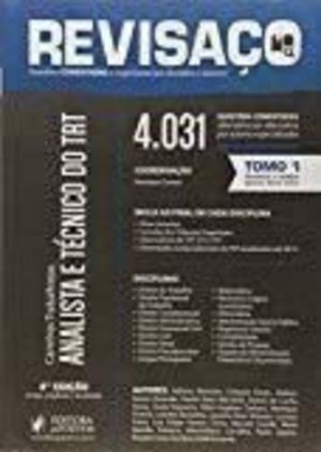 Revisaço Analista E Técnico Do Trt 4031 Questões Comentad...