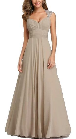 Vestido Largo De Noche/fiesta/ Gala/boda