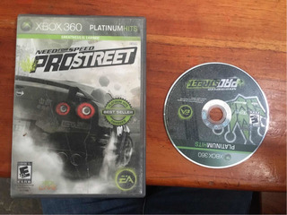 Need For Speed Pro Street Xbox 360